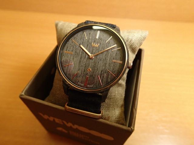 ウィーウッド WEWOOD 腕時計 ウッド/木製 IRIS BROWN GOLD 9818189 ボーイズサイズ 38mm 【正規輸入品】