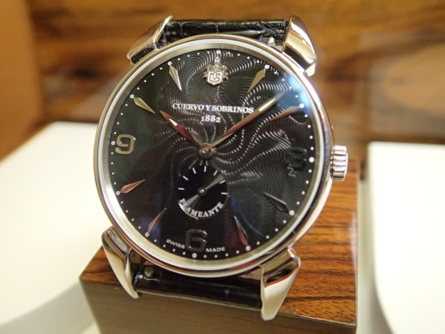 クエルボイソブリノス 腕時計 ヒストリアドール フラメンテ 正規商品 Ref.3130-1FN 【クエルボ・イ・ソブリノス】 無金利分割も可能です。