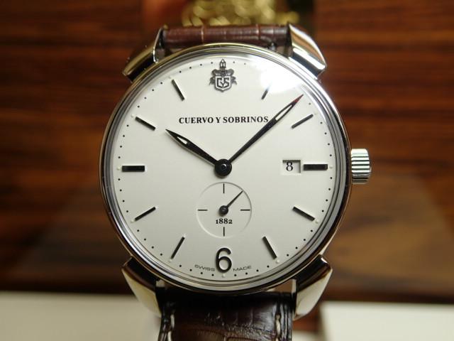 クエルボイソブリノス 腕時計 トルピード ヒストリアドール ペキニョス セゴンドス ヴィンテージ 正規商品 Ref.3191-1I 【クエルボ・イ・ソブリノス】 無金利分割も可能です。