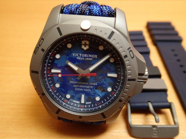 Fish Basket Triknox I N O X イノックスプロフェッショナルダイバーチタニウム Victorinox Professional Diver Titanium 241813 Watch