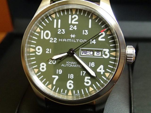 ハミルトン カーキ フィールド デイデイト 腕時計 H70535061 メンズ 【送料無料】【正規輸入品】 優美堂 分割いもOKできますよ。