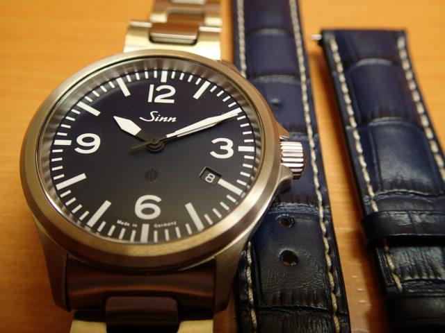 ジン 腕時計 日本限定50本 SINN 856.BLUE.M 優美堂はSinnのOfficial Agent (正規販売店)です。