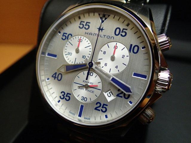ハミルトン カーキ パイロット クロノ クォーツ H76712151 メンズ HAMILTON 腕時計 KHAKI PILOT CHRONO QUARTZ 【送料無料】【正規輸入品】月々分割お支払でお求めください。
