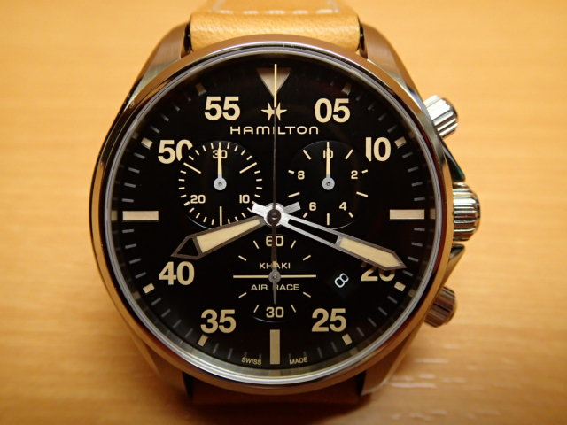 ハミルトン カーキ パイロット クロノ クォーツ H76722531 メンズ HAMILTON 腕時計 KHAKI PILOT CHRONO QUARTZ【送料無料】 【正規輸入品】月々分割お支払でお求めください。