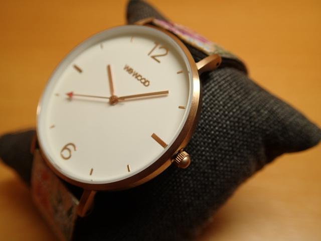 木の腕時計 ウィーウッド WEWOOD 腕時計 ウッド/木製 AURORA FLOWER BEIGE 9818196 メンズ 【正規輸入品】