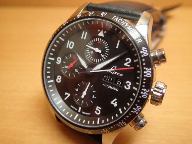 Laco ラコ 腕時計 ホッケンハイム 自動巻 (ETA 7750) 42mm Hockenheim 862089優美堂のLaco ラコ腕時計はメーカー保証2年つきの正規販売店商品です。