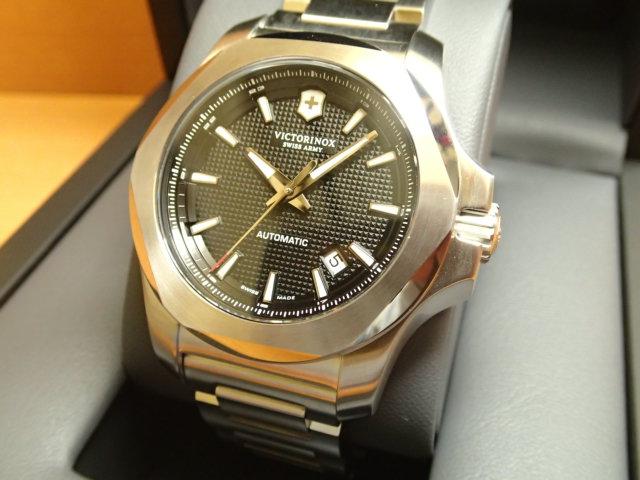 ビクトリノックス メカニカル 機械式自動巻き腕時計 I.N.O.X. MECHANICAL VICTORINOX 241837