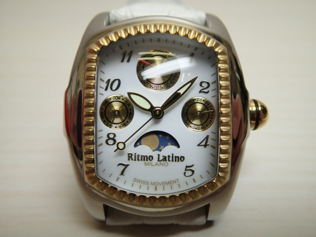 リトモラティーノ レディースサイズ 36mm 腕時計 Ritmo Latino LUNA ルーナ QMLBA20GS 【正規代理店商品】優美堂はリトモラティーノ腕時計の正規販売店です