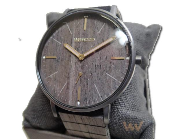 ウィーウッド WEWOOD 腕時計 ウッド/木製 ALBACORE GUN BLACK OAK 9818169 メンズ 【正規輸入品】