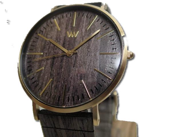 ウィーウッド WEWOOD 腕時計 ウッド/木製 HORIZON GOLD EBONY 9818167 メンズ 【正規輸入品】