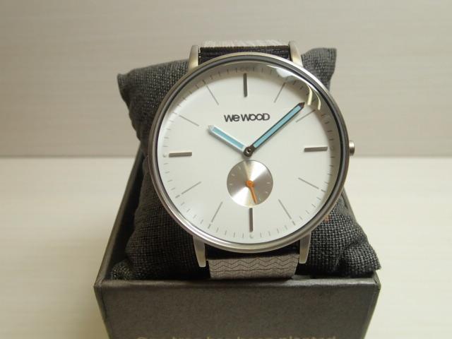 木の腕時計 ウィーウッド WEWOOD 腕時計 ウッド/木製 ALBACORE SILVER WHITE GR 9818199 メンズ 【正規輸入品】
