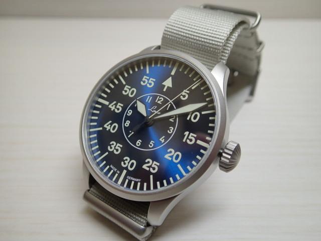 ラコ 腕時計 Laco 862101 アーヘン42 ブラウシュトゥンデ 自動巻き式 42mm Aachen42 Blaue Stunde 862101優美堂のLaco ラコ腕時計はメーカー保証2年つきの正規販売店商品です。