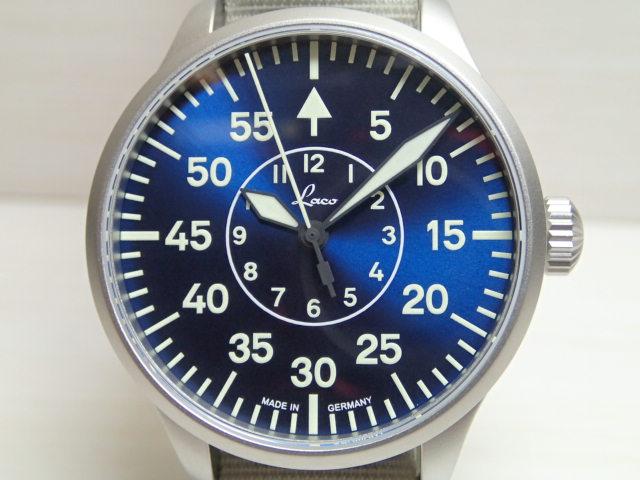 ラコ 腕時計 862103 アーヘン39 ブラウシュトゥンデ 自動巻き式 39mm Aachen39 Blaue Stunde 862103優美堂のLaco ラコ腕時計はメーカー保証2年つきの正規販売店商品です。