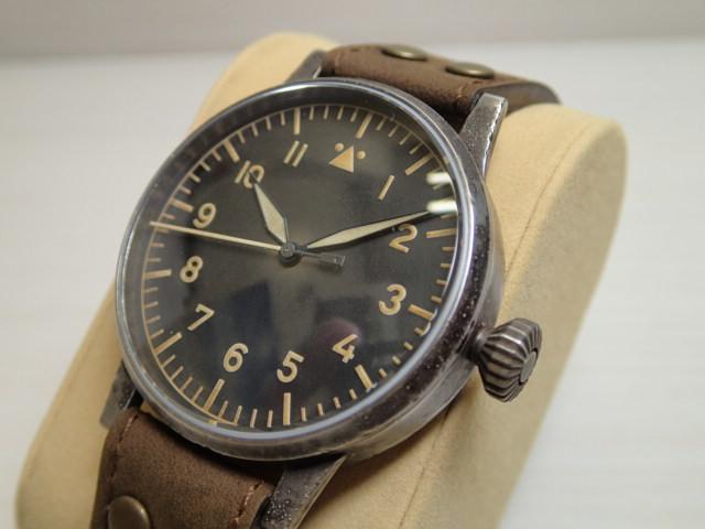 ラコ 腕時計 Laco 861931 アンティーク加工 ミュンスター エアブシュトゥック 自動巻き式 42mm Munster Erbstuck 861931優美堂のLaco ラコ腕時計はメーカー保証2年つきの正規販売店商品です。