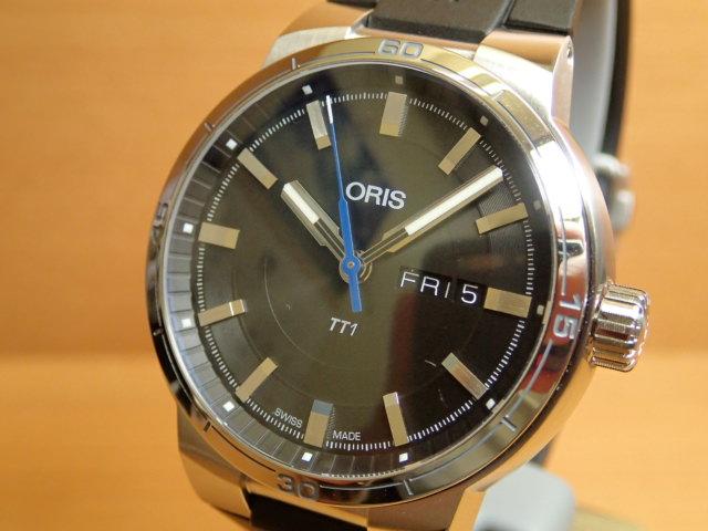 Oris TT1 デイデイト オリス 腕時計 メンズサイズ 73577524154R 【送料無料】
