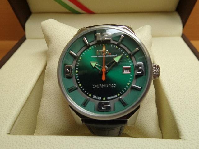 I.T.A アイティーエー 世界限定500本 オートマティコ 自動巻き式 腕時計 正規商品 Ref.26.00.02