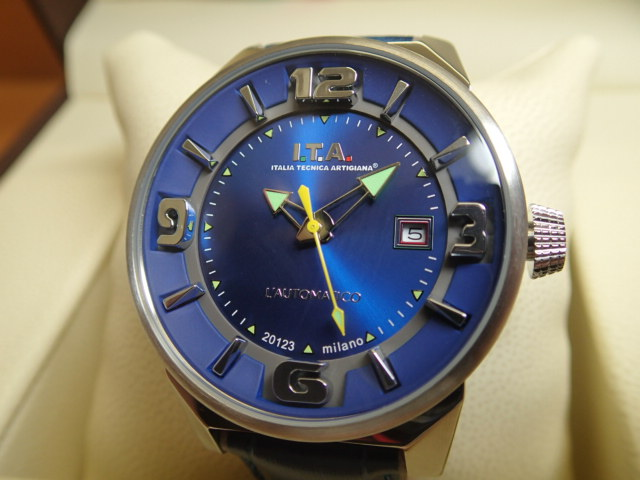 I.T.A アイティーエー 世界限定500本 オートマティコ 自動巻き式 腕時計 正規商品 Ref.26.00.03