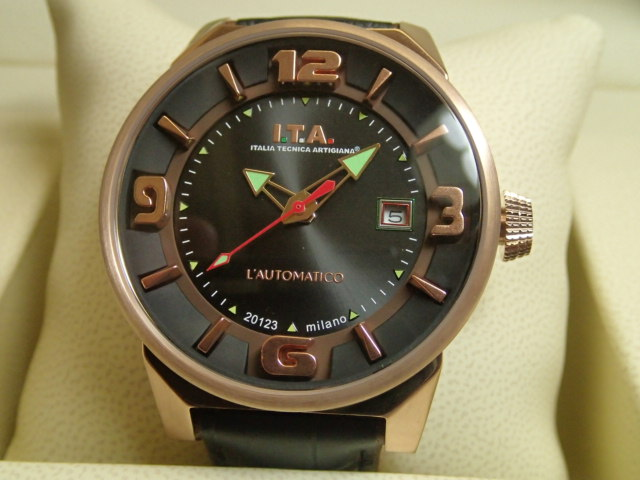 ITA 腕時計 アイティーエー 世界限定500本 オートマティコ 自動巻き式 腕時計 正規商品 Ref.26.00.05