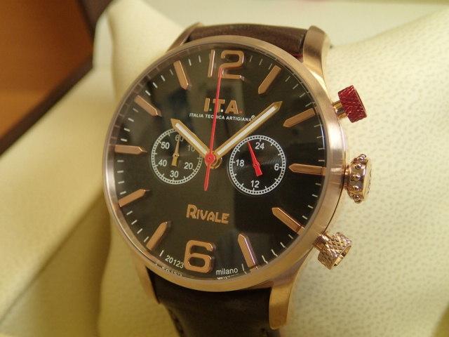 I.T.A アイティーエー RIVALE リヴァーレ 腕時計 正規商品 Ref.29.00.05