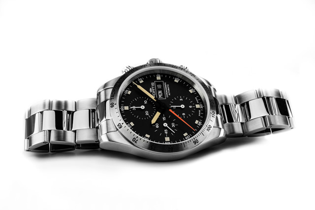 フォルティス ストラトライナー スチール p.m. 腕時計 Stratoliner Steel p.m. 42mm メタルブレスレット Ref.401.21.31M 優美堂分割払いOKです