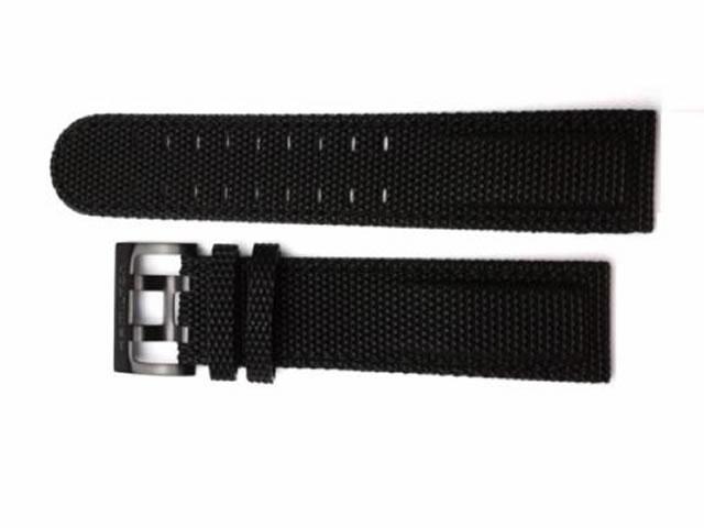 ハミルトン ベルト 時計 カーキシリーズ用 交換バンド 黒色 ブラック 時計ベルト 20mm HAMILTON H600684136