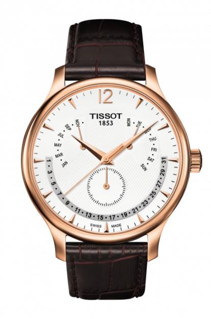 ティソ 時計 腕時計 TISSOT TRADITION Perpetual Calendar トラディション パーペチュアル カレンダー T0636373603700 メンズ 正規輸入品 分割払い可
