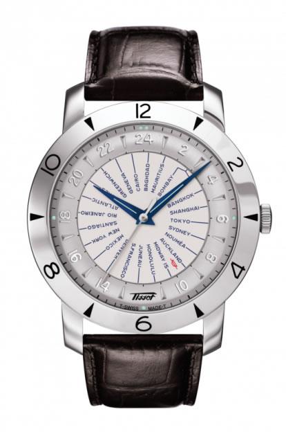 ティソ 時計 腕時計 TISSOT ヘリテージ 創業160周年記念モデル ワールドタイマー T078.641.16.037.00 正規輸入品 優美堂のTISSOT ティソは2年保証のついた正規代理店商品です