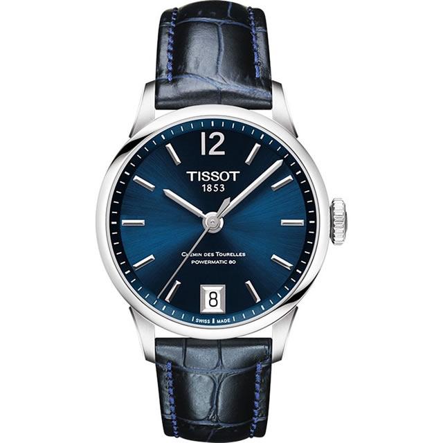 ティソ 時計 TISSOT 腕時計 CHEMIN DES TOURELLES (シャミン・ドゥ・トゥレル) パワーマティック80 レディースサイズ T099.207.16.047.00 正規輸入品 分割払い可