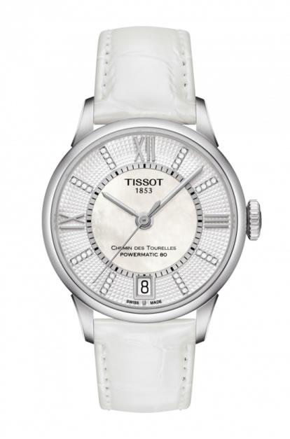 ティソ 時計 TISSOT 腕時計 ティソ 時計 シュマン・ド・トゥレルパワーマティック80 ダイヤモンド レディース T099.207.16.116.00 正規輸入品 分割払い可優美堂のTISSOT ティソは2年保証のついた正規代理店商品です