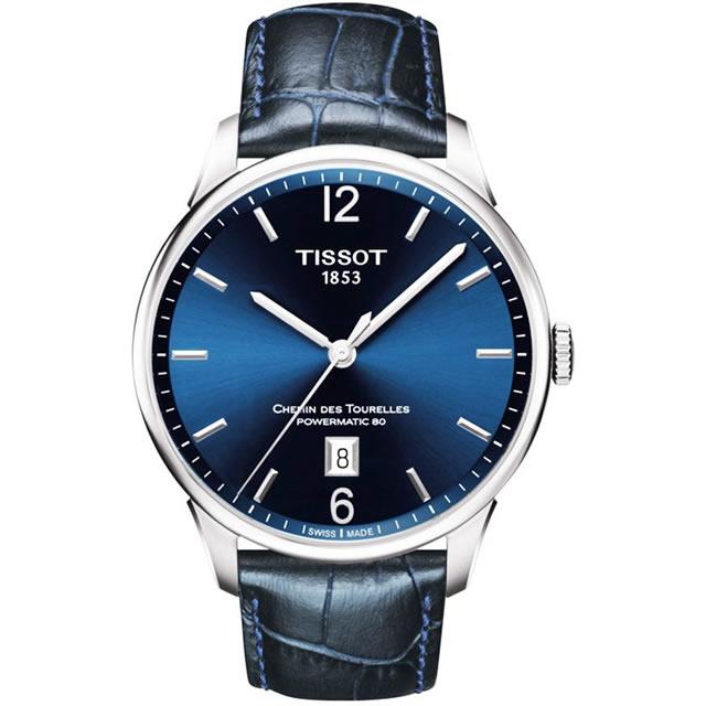 ティソ TISSOT 腕時計 CHEMIN DES TOURELLES (シャミン・ドゥ・トゥレル) パワーマティック80 メンズ T099.407.16.047.00 【正規輸入品】 分割払いもOKです
