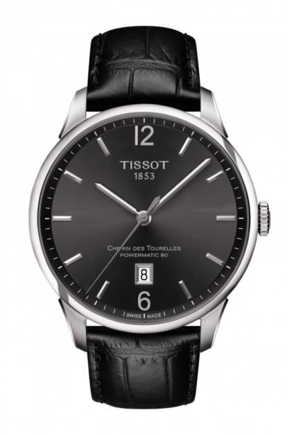 ティソ 時計 TISSOT 腕時計 CHEMIN DES TOURELLES (シャミン・ドゥ・トゥレル) パワーマティック80 メンズ T099.407.16.447.00 正規輸入品 分割払い可