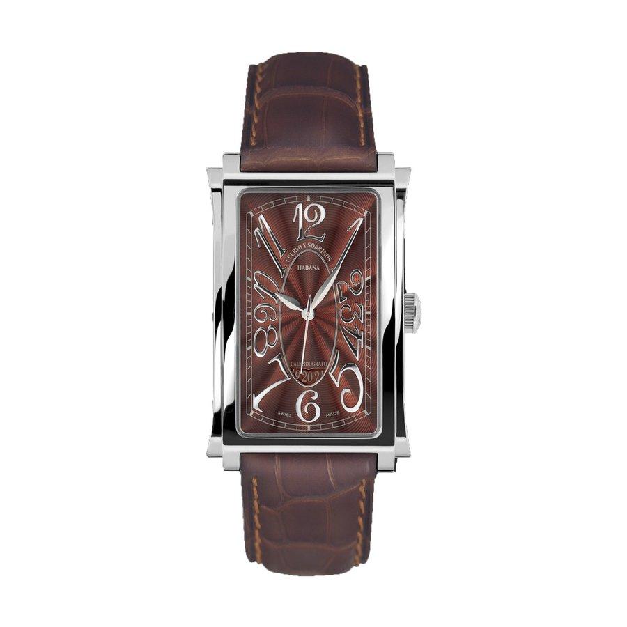 クエルボイソブリノス 腕時計 プロミネンテ ソロテンポ デイト 正規商品 Ref.1012-1TG 【クエルボ・イ・ソブリノス】 無金利分割も可能です。