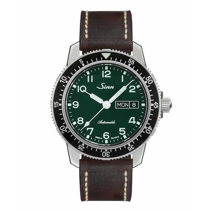 ジン 腕時計 世界限定500本 Sinn 104.ST.SA.A.G カウレザーストラップ仕様 分割払いもOKです