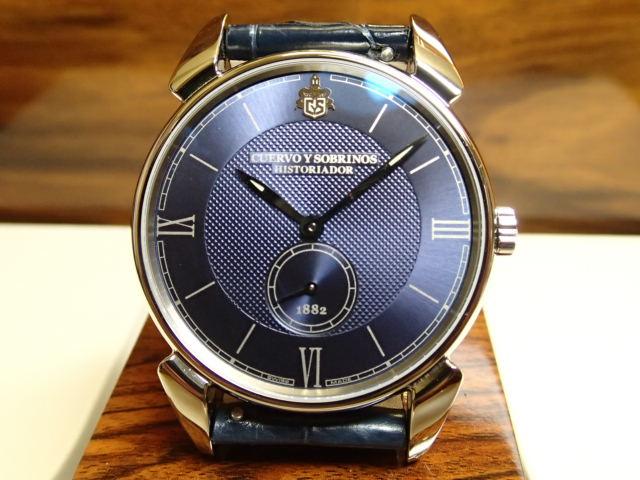 クエルボイソブリノス 腕時計 ヒストリアドール クラシコ 正規商品 Ref.3130.1BB 【クエルボ・イ・ソブリノス】無金利分割も可能です。