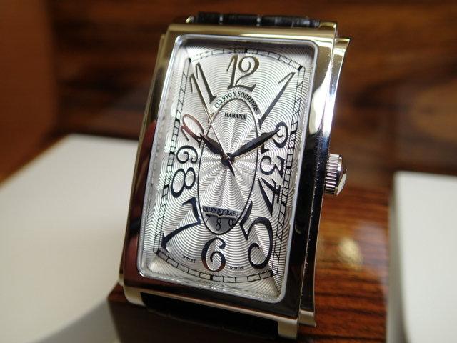 クエルボイソブリノス 腕時計 プロミネンテ ソロテンポ デイト 正規商品 Ref.1012-1AG クエルボ・イ・ソブリノス 無金利分割も可能です。