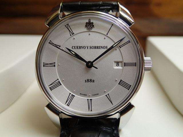 クエルボイソブリノス 腕時計 トルピード ヒストリアドール ペキニョス セゴンドス 正規商品 Ref.3195-CS-AR 【クエルボ・イ・ソブリノス】 無金利分割も可能です。