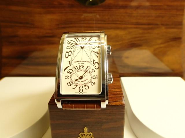 クエルボイソブリノス 腕時計 プロミネンテ デュアルタイム 正規商品 Ref.1112-1C 【クエルボ・イ・ソブリノス】 無金利分割も可能です。