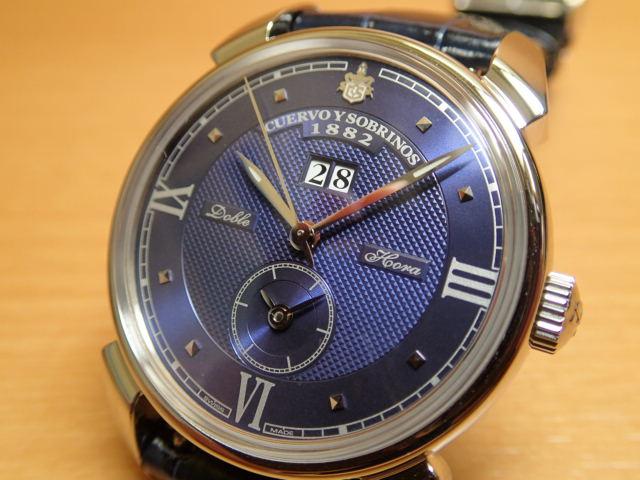 クエルボイソブリノス 腕時計 ヒストリアドール ダブルオラ 正規商品 Ref.3194D-1B 【クエルボ・イ・ソブリノス】 無金利分割も可能です。