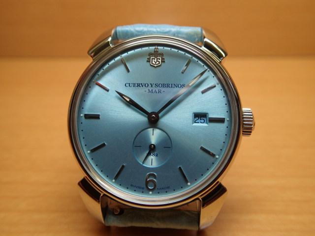 クエルボイソブリノス 腕時計 ヒストリアドール マー 正規商品 Ref.3191-1MAR 【クエルボ・イ・ソブリノス】 無金利分割も可能です。