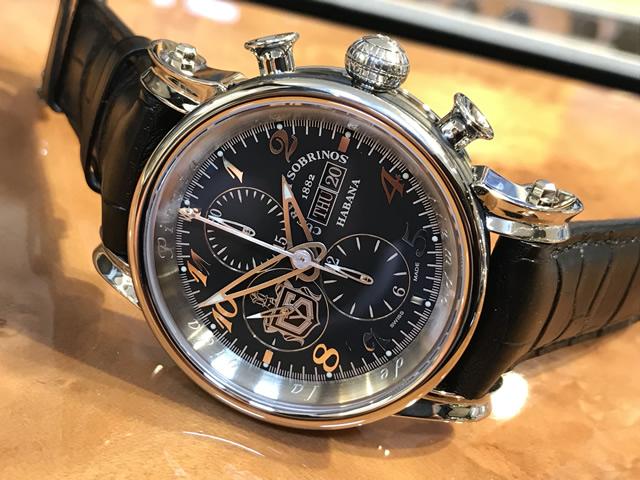 クエルボイソブリノス 腕時計 TORPEDO pirata chrono DAY DATEトルピード ピラータ クロノ デイデイト 正規商品 Ref.3051.1NDD 【クエルボ・イ・ソブリノス】 無金利分割も可能です。