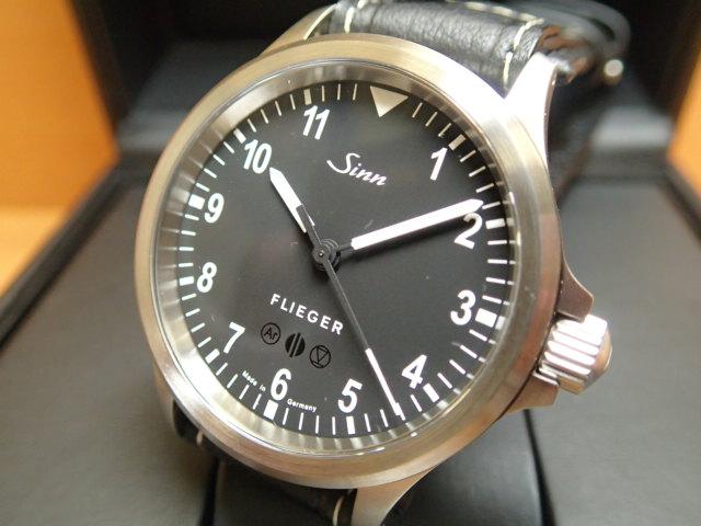 ジン 日本限定50本 Sinn 856.FLIEGER 腕時計 希少品 優美堂分割払いできます。