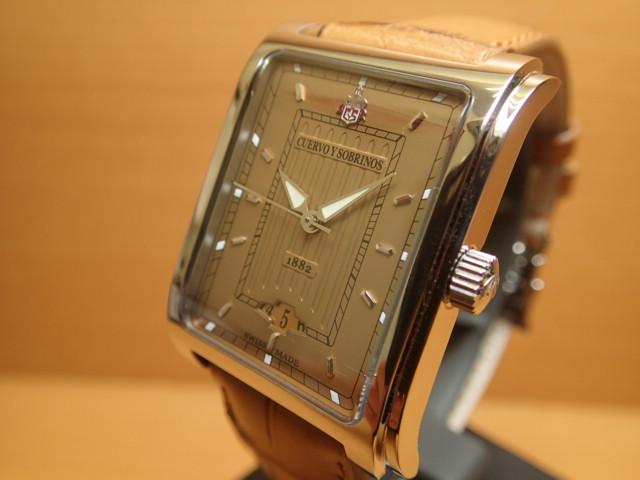 クエルボイソブリノス 腕時計 プロミネンテ クラシコ 正規商品 Ref.1015-1CO クエルボ・イ・ソブリノス 無金利分割も可能です。