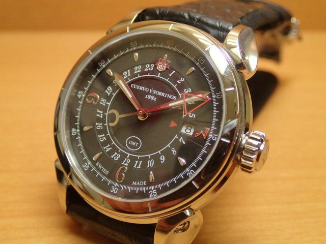 クエルボイソブリノス 腕時計 ヒストリアドール ヴェロ GMT 正規商品 Ref.3204-1N 無金利分割も可能です。