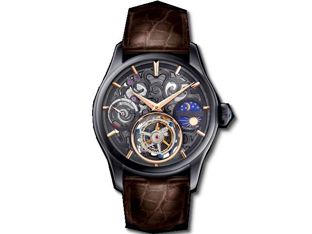 メモリジン 腕時計 トゥールビヨン MEMORIGIN Navigator ナビゲーター マニュファクチュール トゥールビヨン MO1006BKBKBRB 分割お支払できます。