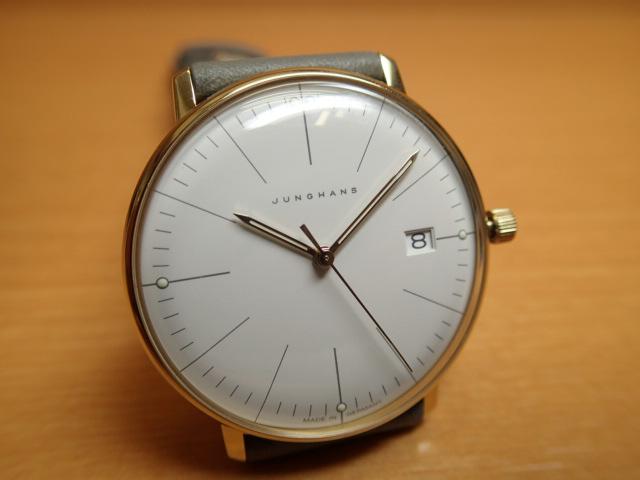 ユンハンス マックスビル バイユンハンス 腕時計 MAX BILL BY JUNGHANS Damen レディースサイズ 38mm マックスビル 047 7853 00 正規商品