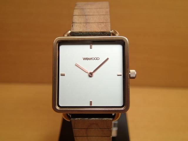 木の腕時計 ウィーウッド WEWOOD 腕時計 ウッド/木製 LEIA ROSE GOLD WHITE 9818204 ホワイト文字盤 レディースサイズ 正規輸入品