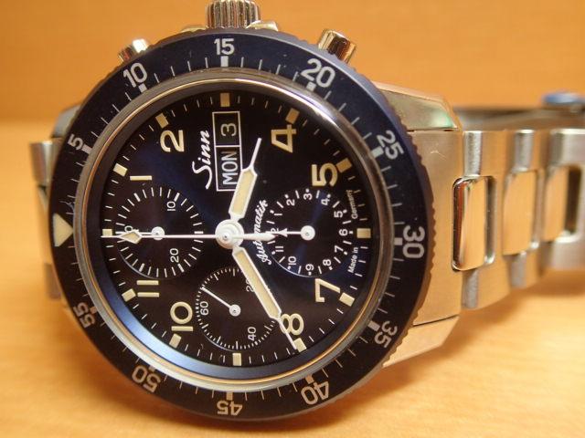 ジン 世界限定 500本 腕時計 Sinn 103 103.SA.B.E M 分割払いもOKですクラシックブルーをまとった伝統的なパイロットウォッチ