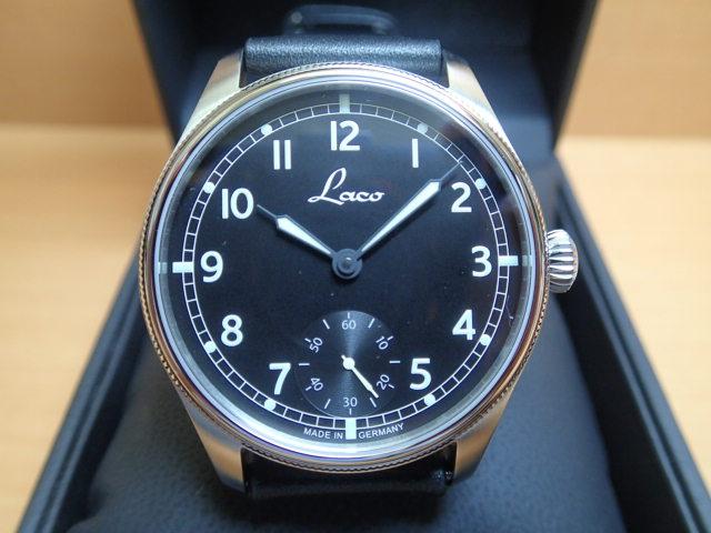 ラコ 腕時計 Laco ネイビー ブレーマーハーフェン Bremerhaven 862105 42mm 手巻き式優美堂のLaco ラコ腕時計はメーカー保証2年つきの正規販売店商品です。