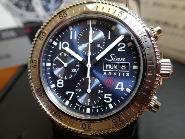 ジン 腕時計 Sinn 206.ARKTIS.II 3連ブレスレット仕様 分割払いもOKです