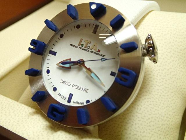 ITA 腕時計 アイティーエー DISCO VOLANTE ディスコ・ボランテ 正規商品 Ref.31.00.01